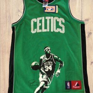 Majestic NBA Boston Celtics Pierce 34 Jersey 14/16